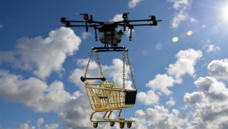 Food Delivery Soars High in the Sky